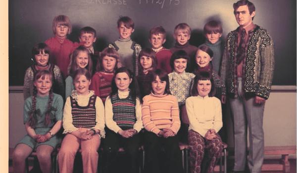 Oksvik skole, Lyngen kommune, 1972/73